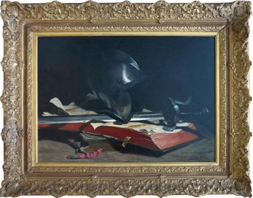 Hippolyte-Pierre DELANOY (1849–1899) - Still life