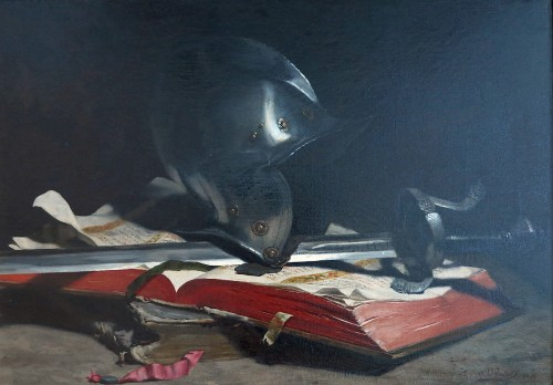 Hippolyte-Pierre DELANOY (1849–1899) - Still life - Paintings & Drawings Style Napoléon III