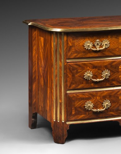 Furniture  - Satinwood Plated Commode