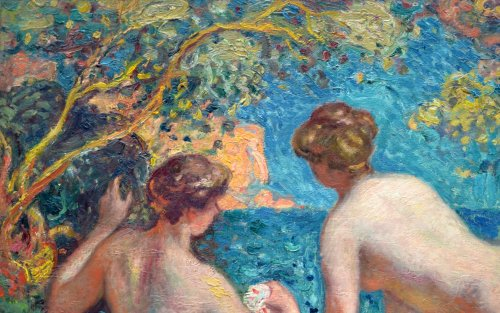 Women Bathing, before 1910 - Georges d'Espagnat (1870-1950) -