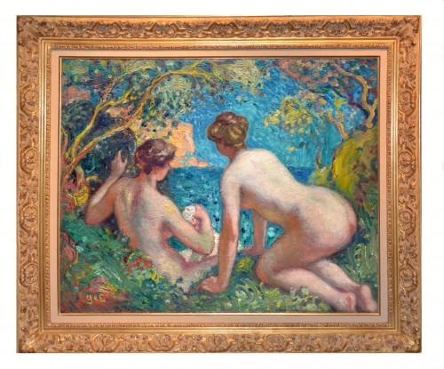 Women Bathing, before 1910 - Georges d'Espagnat (1870-1950) -