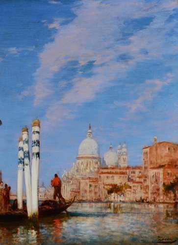 Palazzo Franchetti and the Salute - Félix Ziem (1821-1911)  -