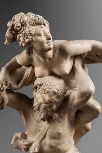 Nymph and Satyr - Sculpture Style