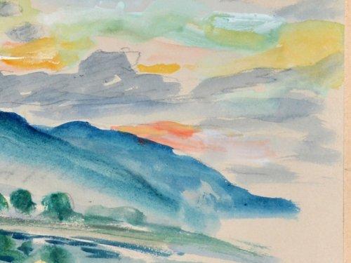 Henri Lebasque (1865-1937) - The Bay of Saint-Tropez -