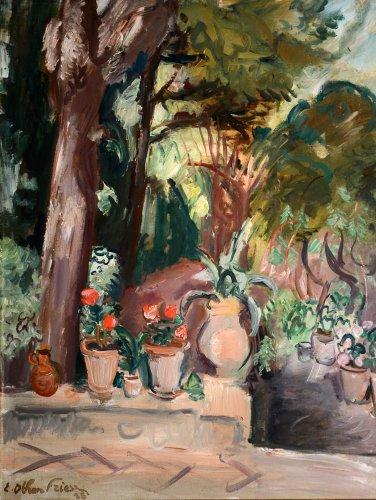 Garden in Cap Brun - Toulon, 1928  - Achille-Émile Othon Friesz (1879-1949)