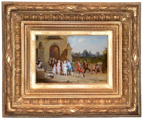François Lanfant de Metz (1814-1892) - The Wedding - Paintings & Drawings Style