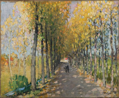 Pierre-Eugène Montézin (1874-1946) - An Autumn Afternoon