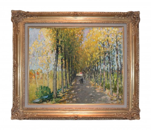 Pierre-Eugène Montézin (1874-1946) - An Autumn Afternoon - Paintings & Drawings Style