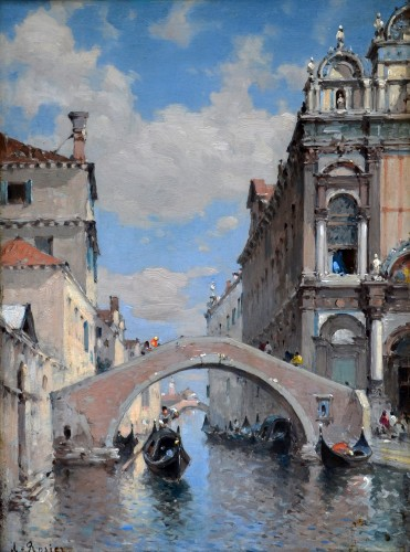 Amédée Rosier (1831-1898) - Scuola Grande of San Marco, Venice