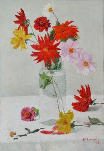 Flowers in a Vase, 1908 - Achille Laugé (1861-1944)