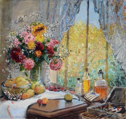 Pierre-Eugène Montézin (1874-1946) - The Artist's Studio in Neuilly-sur-Seine