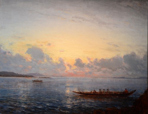 Caicos in the Bosphorus - Félix Ziem (1821-1911)