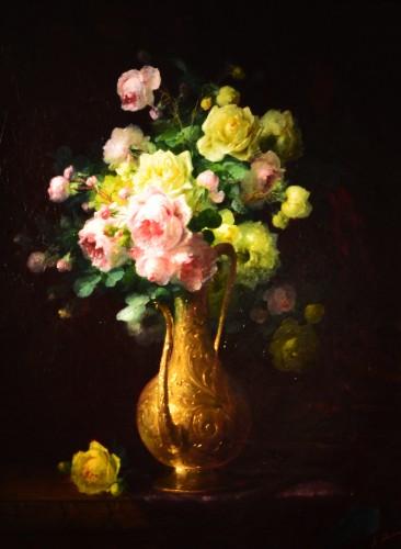 André Benoît Perrachon (1827-1909) - Bouquet of Flowers