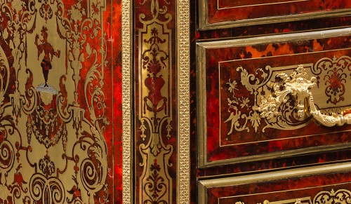 Exceptional Commode in Boulle Marquetry -