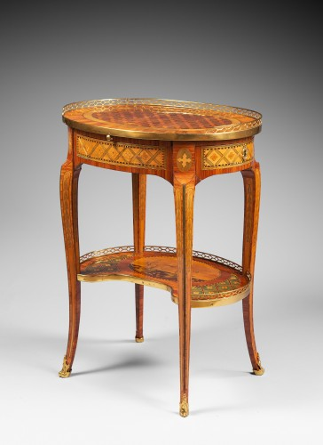"""""""Table de Salon"""" Stamped Dusautoy - Furniture Style Transition"""
