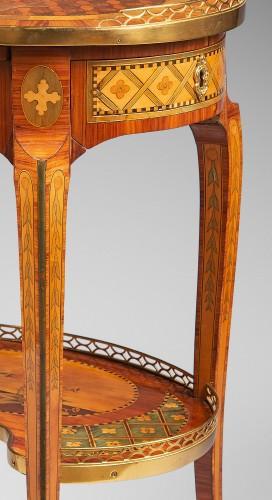 "Furniture  - ""Table de Salon"" Stamped Dusautoy"