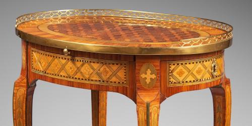 """""""Table de Salon"""" Stamped Dusautoy -"""