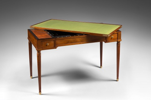 Game Table known as « tric-trac » Stamped Martin Ohneberg - Furniture Style Louis XVI