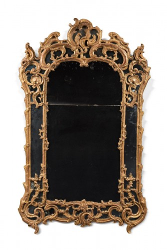 Tall Rocaille Mirror Louis XV Period