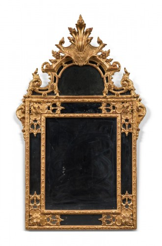 glazing beads mirror end of the Louis XIV period