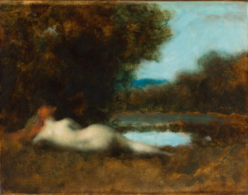 Jean-Jacques Henner (1829-1905) - Nymphe à la source