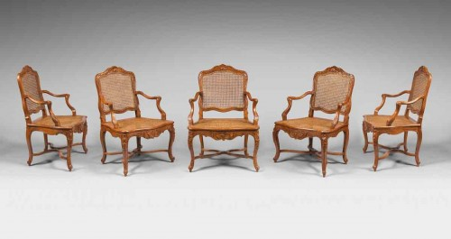Living Room Furniture from the Collection of Baron James de Rothschild -
