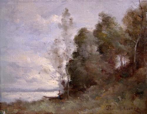 Paul-Désiré Trouillebert (1829-1900) - La Loire au Petit Puy, près de Saumur