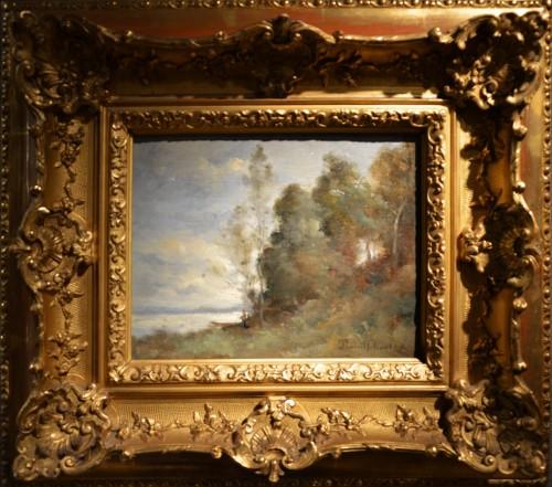 Paul-Désiré Trouillebert (1829-1900) - La Loire au Petit Puy, près de Saumur - Paintings & Drawings Style