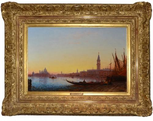 Félix Ziem (1821-1911) - View of Saint Mark from the Riva degli Schiavoni, Venice