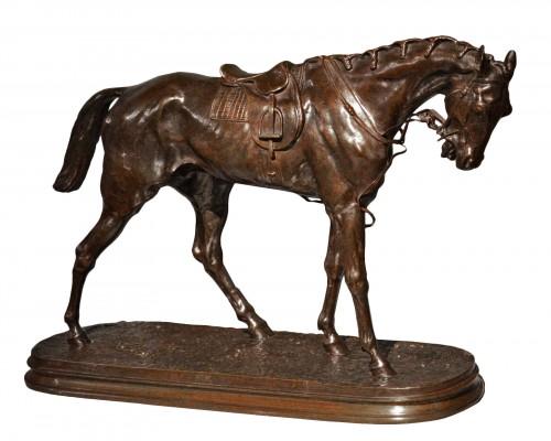 Pierre-Jules Mène (1810-1879) The racehorse