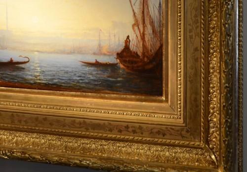 Paintings & Drawings  - Félix Ziem (1821-1911) - Constantinople