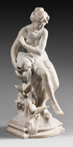 Mathurin Moreau (1822-1912) - The Source - Sculpture Style