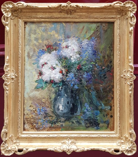 Pierre Eugène Montézin   (1874-1946) - Bouquet of flowers - Paintings & Drawings Style