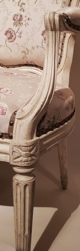 Suite of Four Armchairs by Georges Jacob - Seating Style Transition