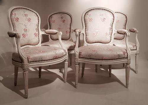 Seating  - Suite of Four Armchairs by Georges Jacob