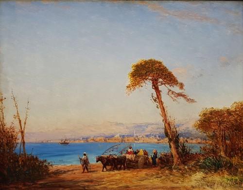 View of the Bosphorus - Felix Ziem (1821-1911)