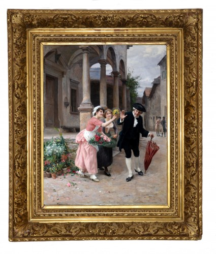 Jules Girardet (1856-1946) - Pretty florists