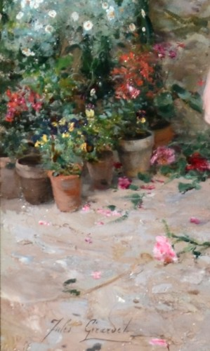 Jules Girardet (1856-1946) - Pretty florists  -