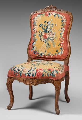 Suite of 4 Lounge Chairs, early Louis XV period - Seating Style Louis XV
