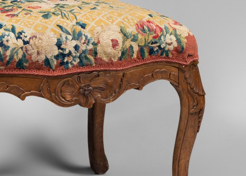 Seating  - Suite of 4 Lounge Chairs, early Louis XV period