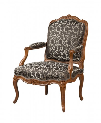 Nicolas Heurtaut, exceptional suite of eight armchairs for the Queen