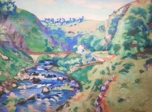 """Armand Guillaumin (1841-1927) """"La Sédelle near Crozant, circa 1905"""""""