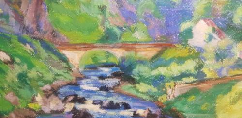 """Armand Guillaumin (1841-1927) """"La Sédelle near Crozant, circa 1905"""" -"""
