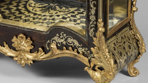 Louis XIV - Important Cartel in Boulle marquetry, Late Louis XIV period
