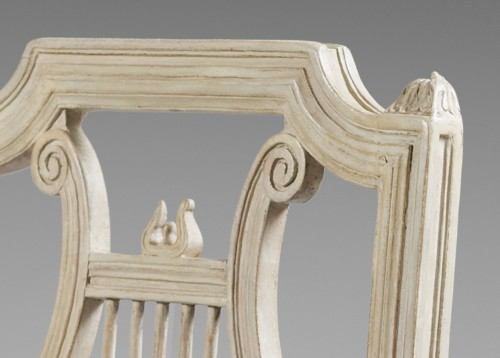 Height chairs by Georges Jacob, Epoque Louis XVI - Seating Style Louis XVI