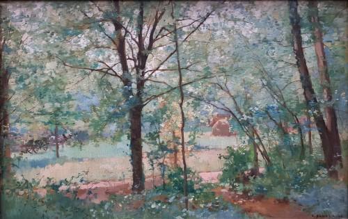 Emmanuel Damoye (1841-1916) - The edge of the wood