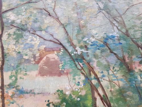 Paintings & Drawings  - Emmanuel Damoye (1841-1916) - The edge of the wood