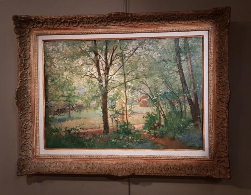 19th century - Emmanuel Damoye (1841-1916) - The edge of the wood
