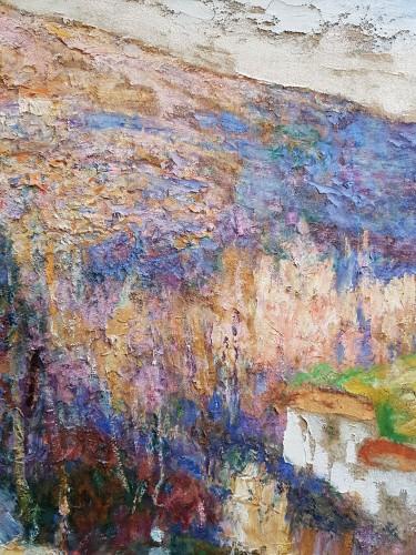 Paintings & Drawings  - Victor Charreton (1864-1937) - Premières neiges en Creuse