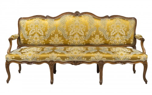 Large Louis XV period sofa by Louis CRESSON